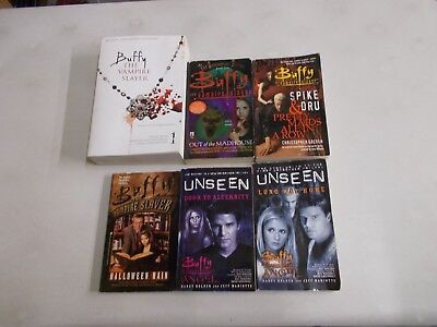 6 BUFFY THE VAMPIRE SLAYER PRETTY MAIDS HALLOWEEN RAIN UNSEEN MADHOUSE pb - Vampire Slayer Halloween