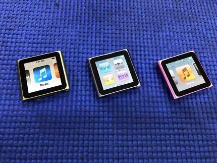 iPod Nano's 8gb 6th Generations