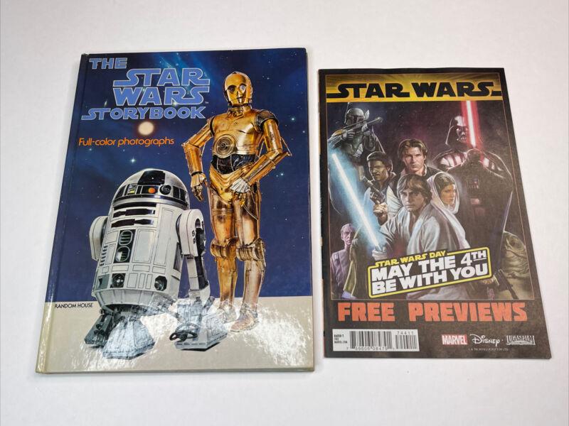 Vintage 1978 The Star Wars Storybook Hardback Book With Full-Color Photographs