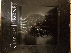 Game of Thronest first two seasons on blu-ray