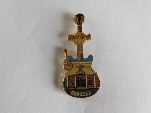 Hard Rock Cafe FUKUOKA 2004 - Facade Front HRC Building Guitar Series Pin