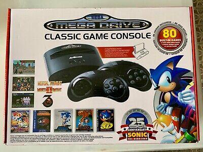 Sega Mega Drive Classic Sonic 25th Edition + Mortal Kombat 1, 2 & 3