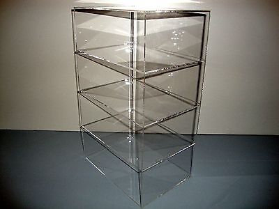 305displays Acrylic Lucite Countertop 9 12 X 7 X 16 Display Showcase Cabinet