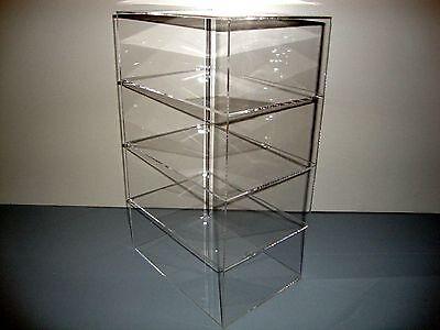 Acrylic Lucite Countertop Display Case Showcase Box Cabinet 9 12 X 7 X 16