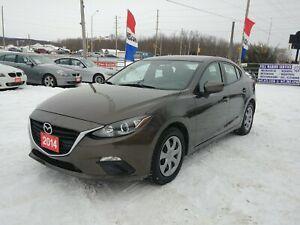 2014 Mazda Mazda3 GX-SKY !!CERTIFIED!!FINANCING!!WARRANTY!!