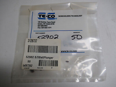 Te-co 52902 Ss Ball Plunger 50 Pack
