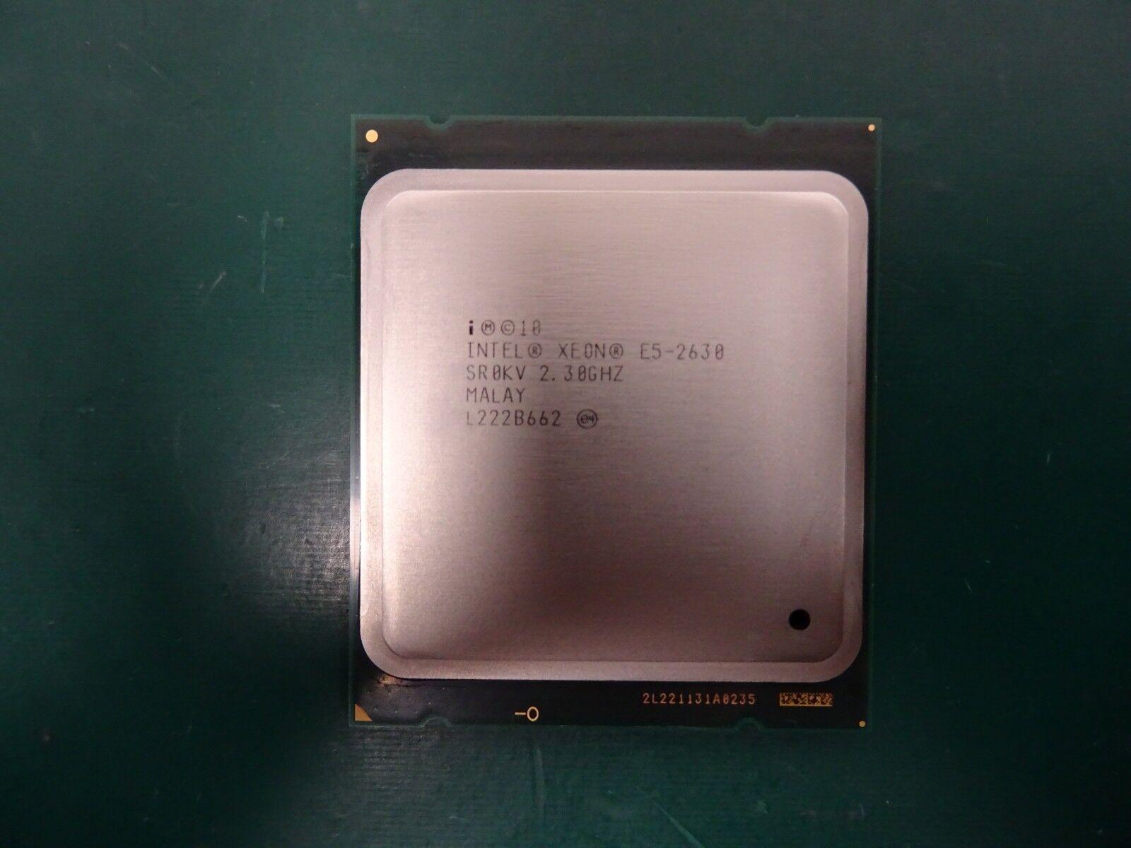 Intel Xeon E5-2630 6-Core 2.3GHz 2.8GHz LGA2011 CPU SR0KV