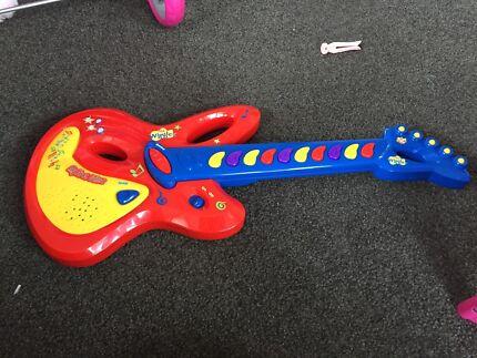 Wiggles guitar