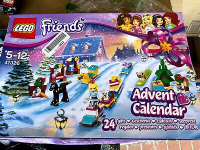 LEGO Friends 41326 2017 Friends Advent Calendar New Sealed,217 Pieces Christmas