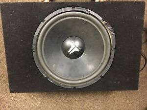 "12"" JL Audio subwoofer, good working condition. $60 for pickup"