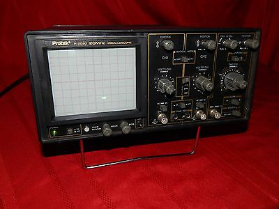 Protek Model P-2020 20 Mhz Oscilloscope