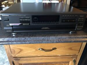 Technics MASH 5 Disc Rotary Changer CD System