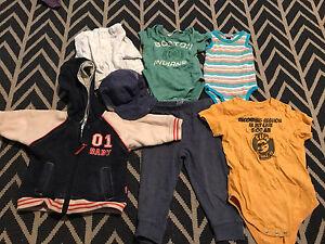 Baby Boys hoodie onesie pumpkin patch cotton on newborn premie Glenelg South Holdfast Bay Preview
