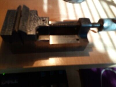 Precision Toolmakers Vise 2in. Wide 2 In Jaw Opening  Preowned