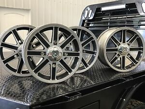 "14"" Polaris Rims with spacers"