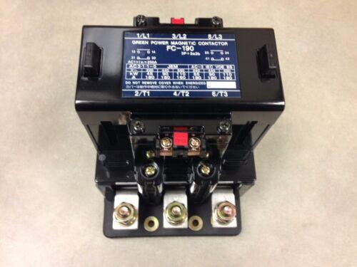 FC-190 Matsushita Contactor 180A 220V Coil NIB