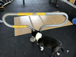 Bike rail for locking up bikes