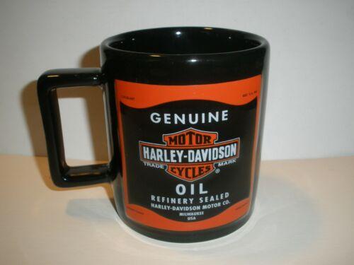 """RARE 2011 Genuine Harley Davidson Motor Oil Mug 4.5"""" x 3.5"""""""