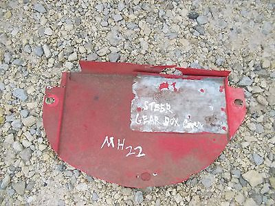 Massey Harris Mh 22 Tractor Original Steering Gear Box Top Cover Panel