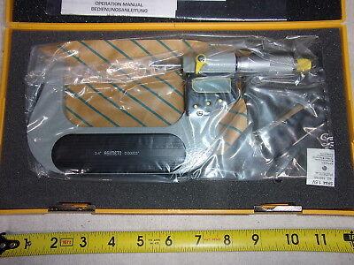 Asimeto 285008 3-4 Electronic Digital Electronic Micrometer - New - China