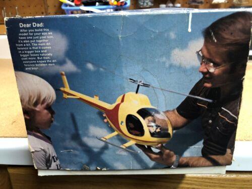 Rotorway Executive Helicopter 1/10 Scale Kit   VINTAGE RARE !  w BONUS EXTRAS