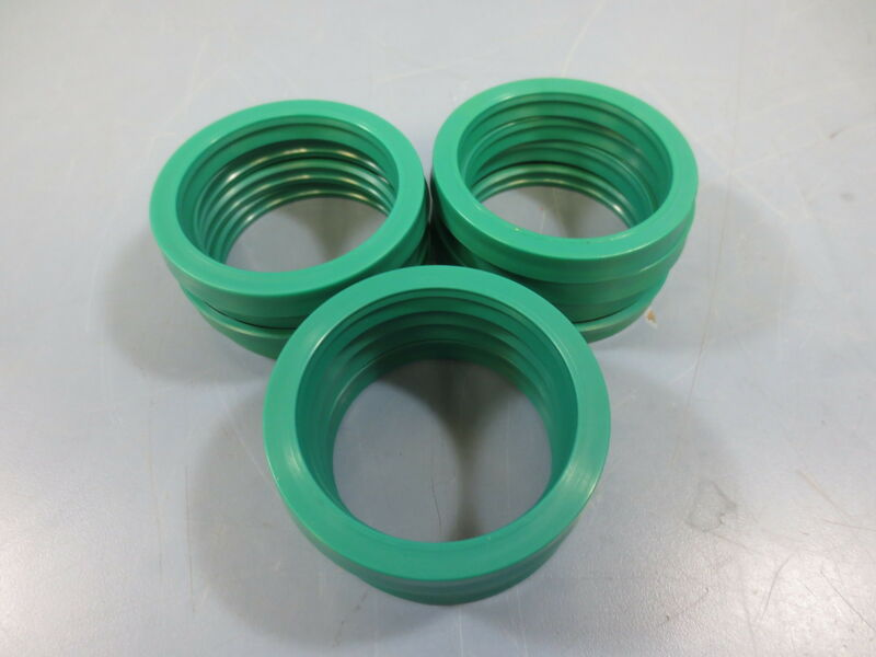 12 New 80410002 Ring Groove Green Plastic
