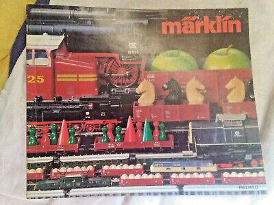 Modellbau-Eisenbahn: Märklin - Katalog 1982 / 83 D