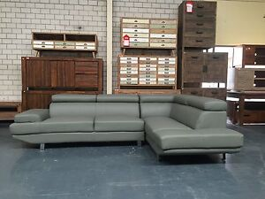 ORION  - New leather lounge Leumeah Campbelltown Area Preview