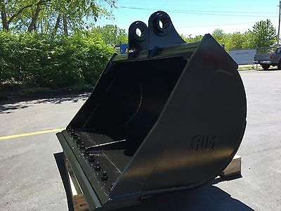 New 60 Case Cx210 Cx225 Ditch Cleaning Bucket With Pins