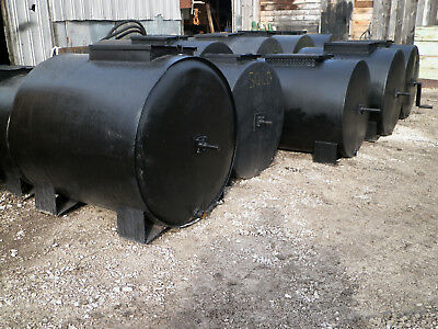 250 Gallon Bt Enterpises Sealcoating Tank Machine Hand Agitated Sealcoat Steel