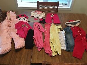LOT GIRLS 3/6M and 6/9M