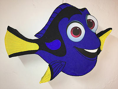 Dory Pinata. find nemo. Party decoration. Under the sea. Mermaid birthday girl p (Nemo Pinata)