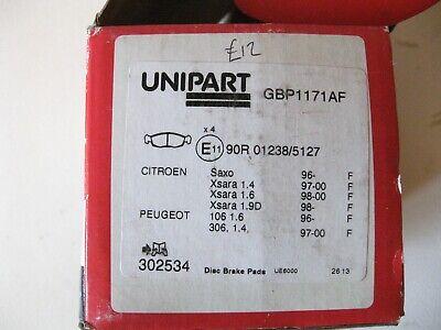 citroen saxo xsara peugeot 106 306 front brake pads