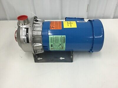 Goulds Water Pump - Totally Enclosed Centrifugal Pump 208-240480vac