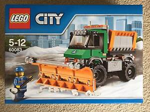 Lego City - 60083 - Snowplough Truck Bruce Belconnen Area Preview
