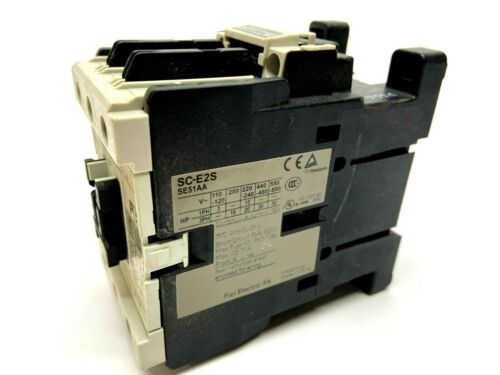 Fuji Electric SC-E2S Contactor 600V 70A Max 3 Pole SE51AA