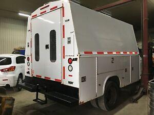 Boite de service utilitaire. Boite de camion outil Knapheide 11