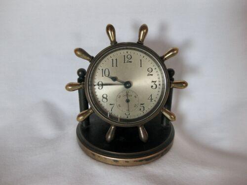 Vtg Chelsea Clinton Marine Desk Clock 1945
