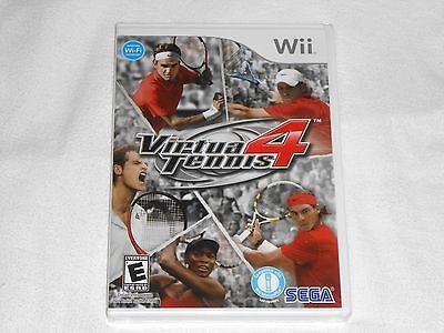 NEW Virtua Tennis 4 Nintendo Wii Game BRAND NEW SEALED we Sega USA virtual tenis ()