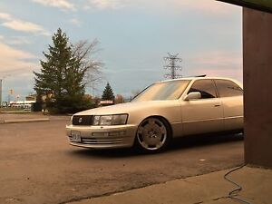 Lexus ls400, looking for quad