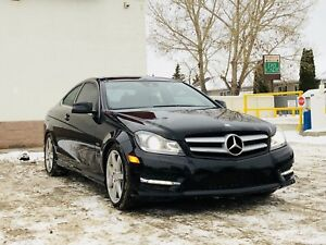 2012 MERCEDES-BENZ C350 COUPE ALL WHEEL DRIVE