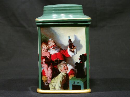 COCA-COLA CHRISTMAS CANISTER