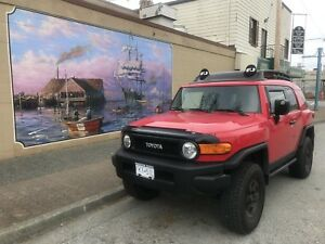 2012 Toyota FJ Cruiser Team Trails