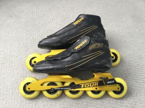 Tour 800 RST Carbon Aluminum Speed Inline Skates Size 10