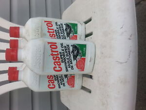 6 litres of snowmobile oil