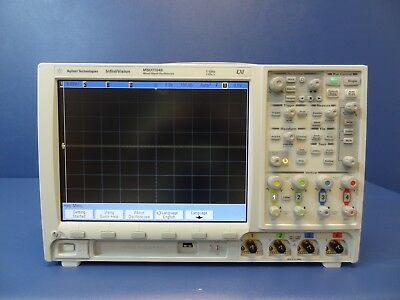Keysightagilent Mso7104bmixed Signal Oscilloscope 1 Ghz 4 Analog 16 Digital