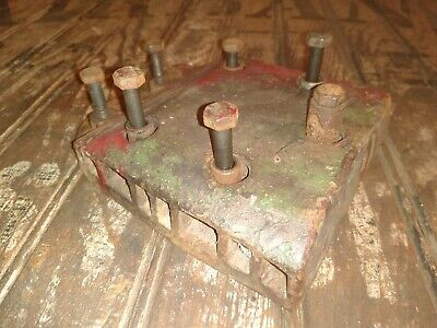 Antique Vintage Briggs Stratton Model B Engine Cast Iron Cylinder Head
