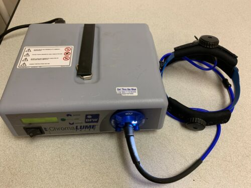 BFW 9870US ChromaLUME Turbo Light Source w/ Headlamp