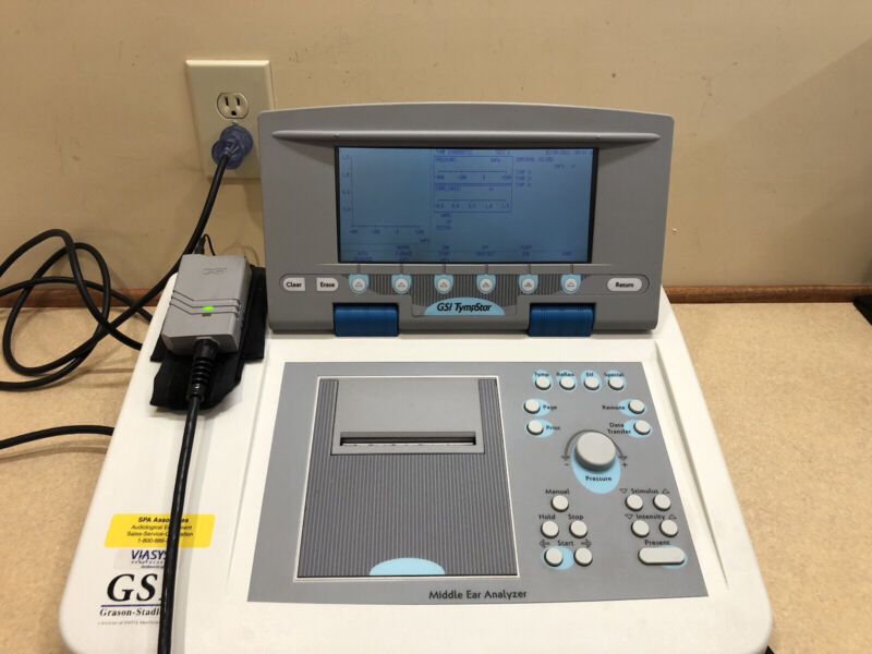 GSI Tympstar, Version 2 Clinical Tympanometer with NEW Calibration Certificate