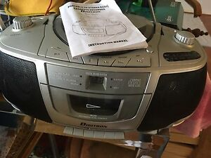 Portable CD stereo radio Vincentia Shoalhaven Area Preview